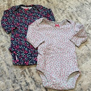 2 Child of Mine by Carter's Bodysuits-Onesies